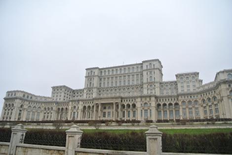 El iceberg de Bucarest