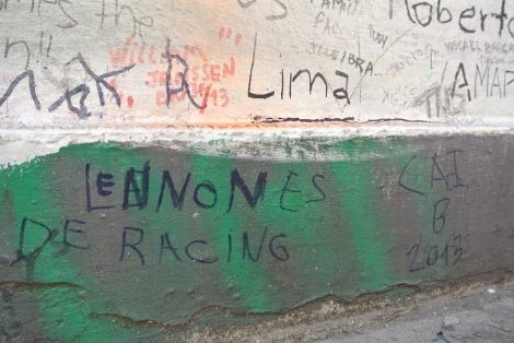 Lennon es de Racing (?)